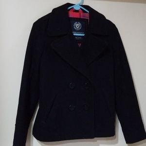 American Eagle Navy Peacoat
